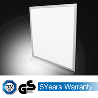 GS TUV approval 40w 55w 100lm/w 595*595mm led ceiling panel light