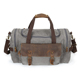 YD-2189 luggage vintage canvas travel large duffle bag