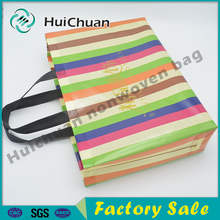 Favorable price new style colorful handled pp non woven fashion designer bags