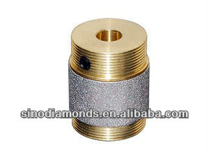 Diamond Router Grinder bits Heads for glass