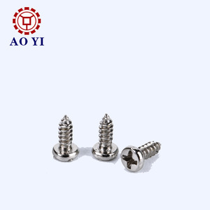 Wholesale Canbon Steel Pan Phillips Head Small Tiny Self Tapping Screw for Toys