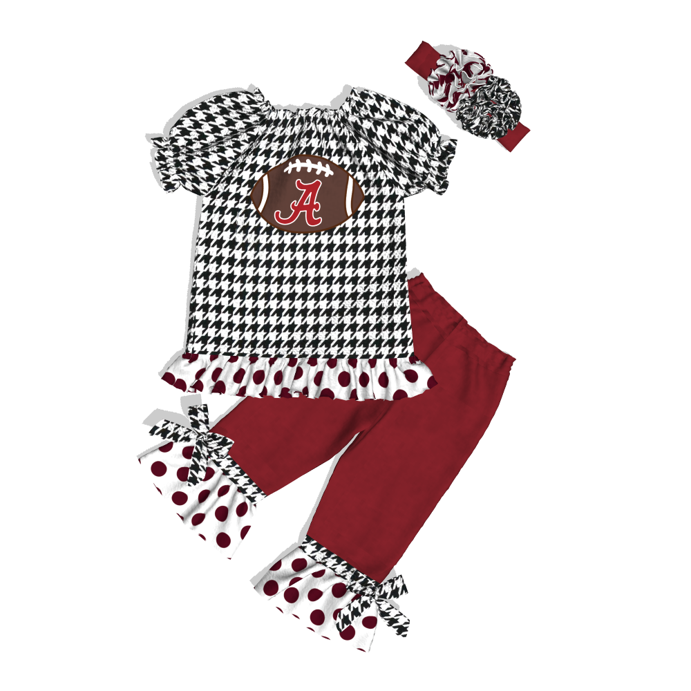 New style baby girl summer boutique cute cartoon cotton clothes/clothing sets/outfits