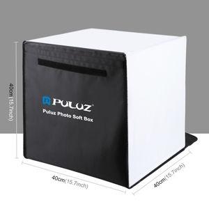 Wholesale Factory price PULUZ 40cm Photo Softbox Portable Studio Shooting Tent Box Kits with 5 Colors Backdrops