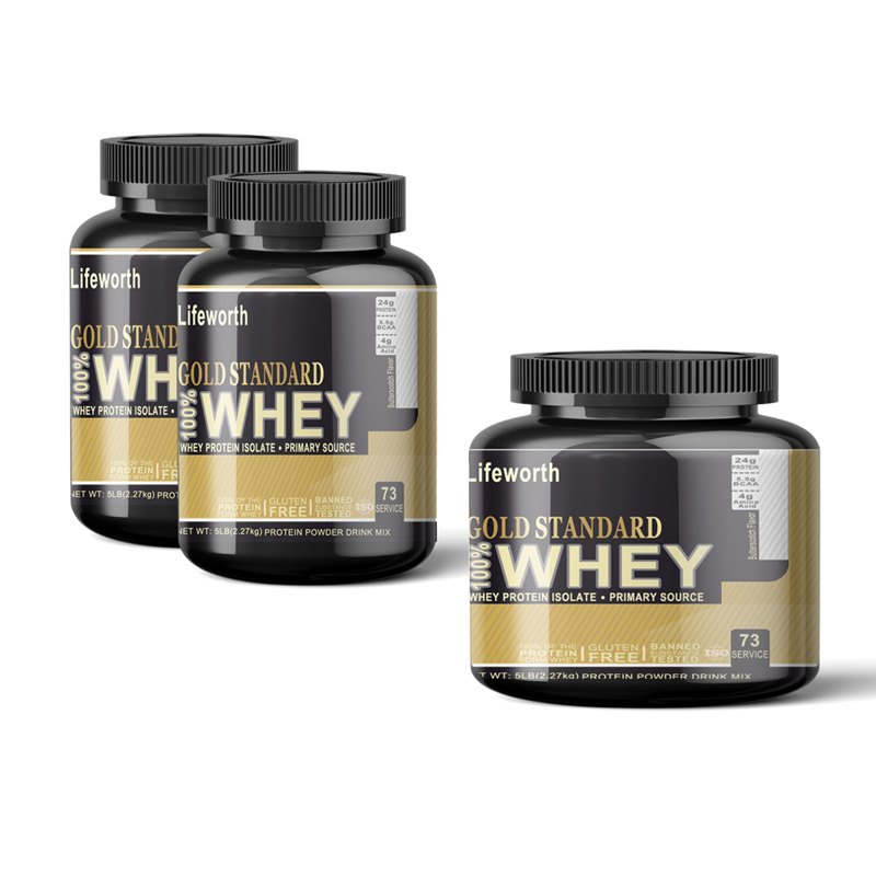 Lifeworth cream flavor powder wholesale whey protein isolate supplements