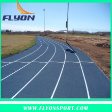13mm Thickness Spray Coating Running track IAAF approved athletic running track Sport games flooring surfaces