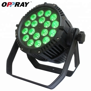 Factory price par led 18 x 8w rgbw 4in1 dmx outdoor par can lights for sale