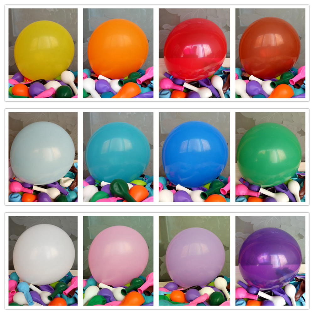 "Pass EN71-123 high quality 12"" Round inflatable latex balloons"