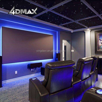 Entertainment money-making attractive 3dof 4d home theater