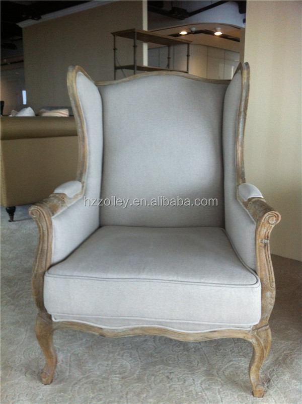 Living Room Furniture High Back Chair/Wing Back Armchair - Buy