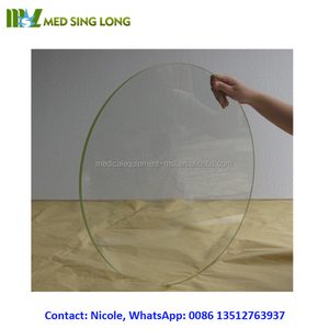 MSLLG01 High lead equivalent and different size of the x-ray radiation protection lead glass