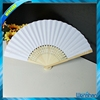 blank customized paper bamboo hand fan