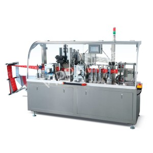 new products of high speed Fully Automatic alcohol pad packs wet wipes packaging machine 4 side sealing sachet