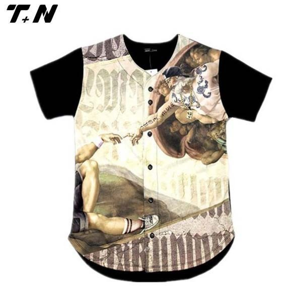 Custom Sublimation Baseball Jerseys Softball Team Wear