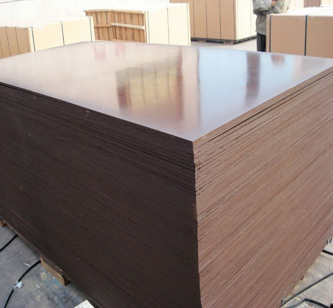 18mm Plywood Melamine Coated Plywood Brown Film Faced