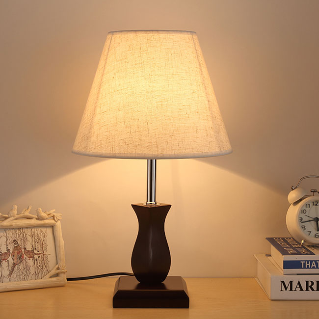 Adjustable light wood with warm light table wooden lamp Hot sale