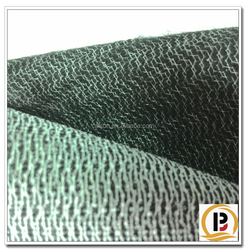 80-160gsm Heavy Weight Knitted Fusing Interlining for Garments