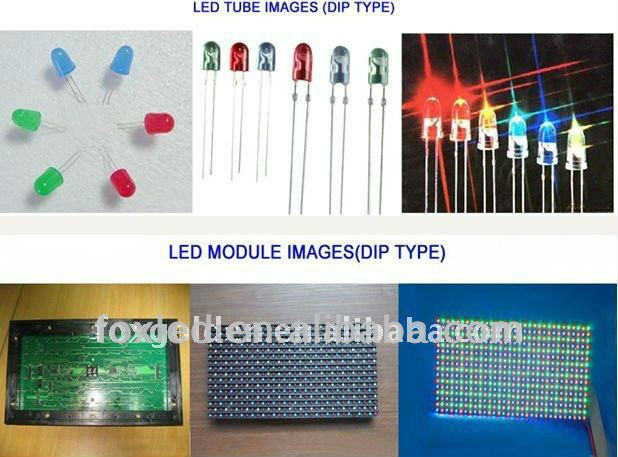 Alibaba CE,UL approved P4/P4.75/P6/P7.62/P10/P12/P16/P20 red green single color led module