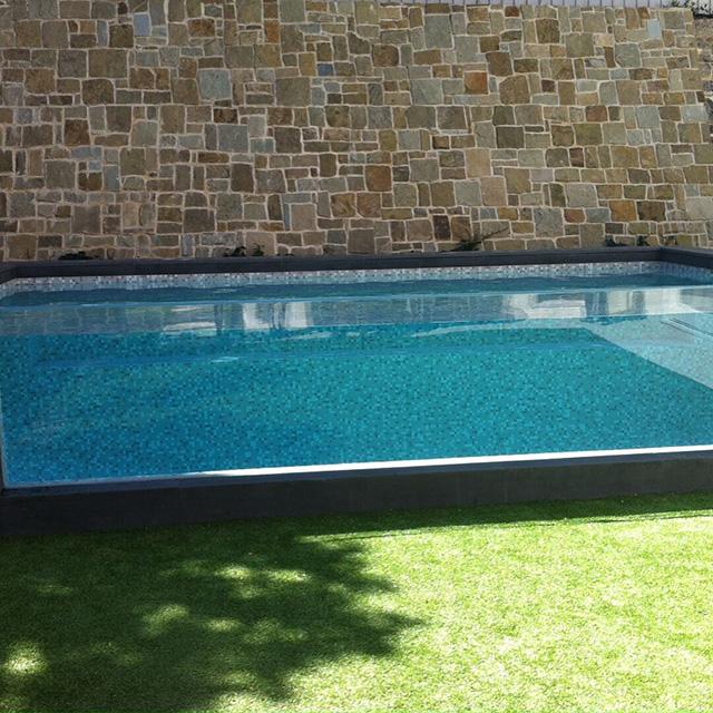 PG claro personalizado paneles de acrílico bajo el agua por la ventana de la piscina