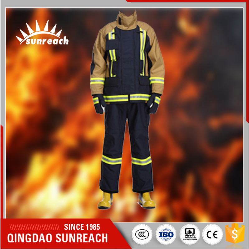 Assured Quality Aluminized Qingdao Cotton Fabric Fire Suit