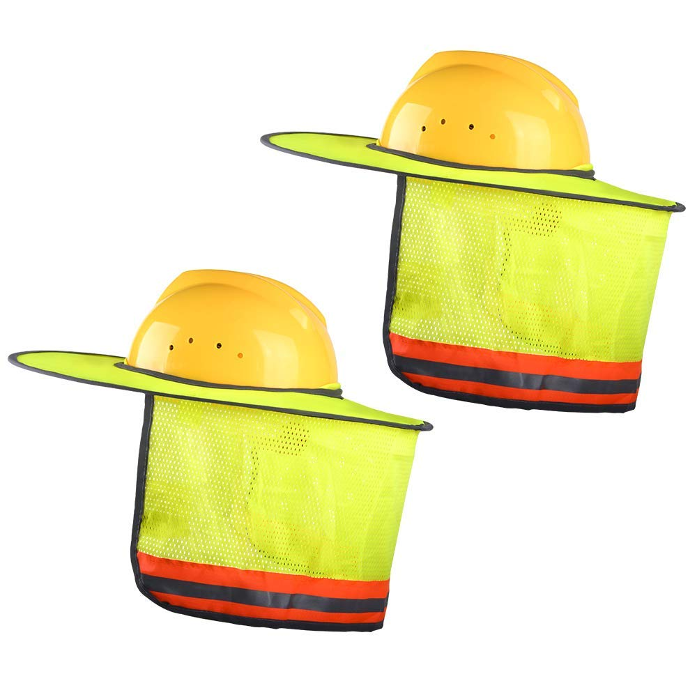 2 Pack Full Brim Hard Hat Sun Shield,Hard Hat Sun Shield For Reflective 241f8d9cb9c