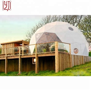 Customized outdoor greenhouse geodesic dome house ,geodesic dome tent