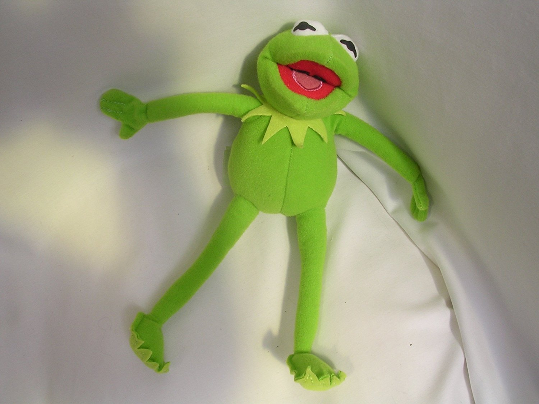 Buy Kermit Frog Muppet Plush Toy Beanie 10