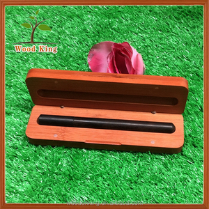 New Products For 2017 Students Pen Ballpoint Pen Office Furniture Bamboo Send Gift Pencil Luxury Wooden Pen Box