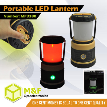 Smd White Red Led D Size Battery Operated Camping Lamp Lantern