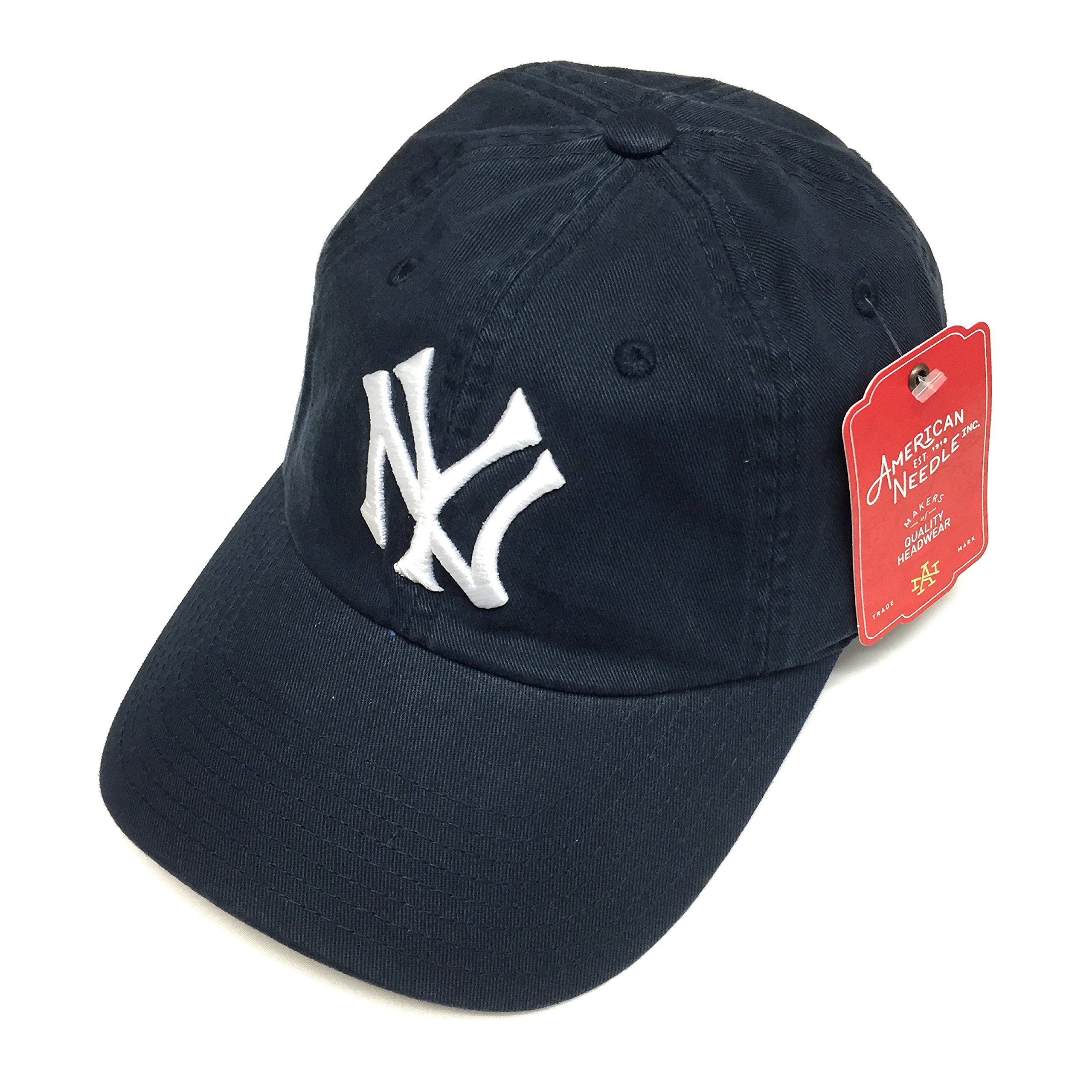 3048999f6a4 Get Quotations · American Needle MLB New York Yankees Navy Team BallPark  Adjustable Cap