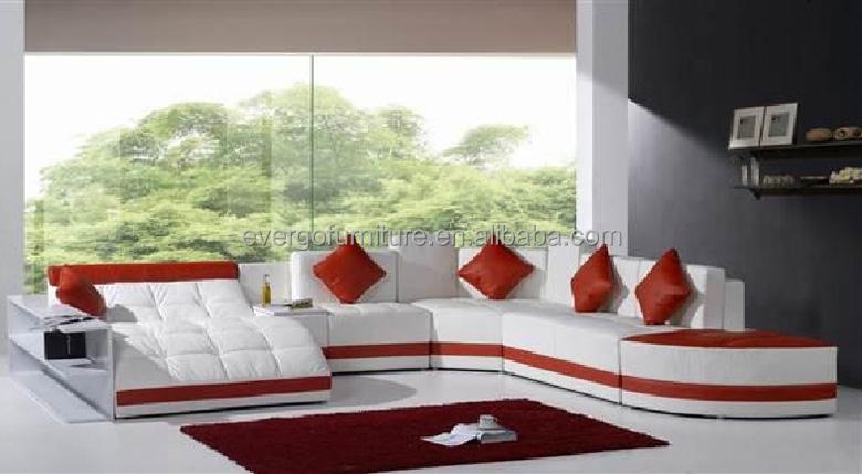 nuovo design divano ad angolo e a forma di u divano in pelle ... - Ultimo Disegno Di Divano Ad Angolo