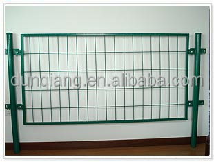 Panel Frame Wire Mesh Fence / Temporary Welded Metal Fence Panels for Sale ( factory price)