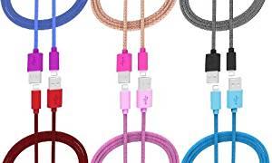Ihip Apple-Certified 5ft. Fiber Tangle-Resistant Lightning USB Cables