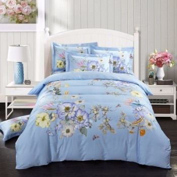 wholesale custom printed bed sheets comfortable 3d bedding set buy