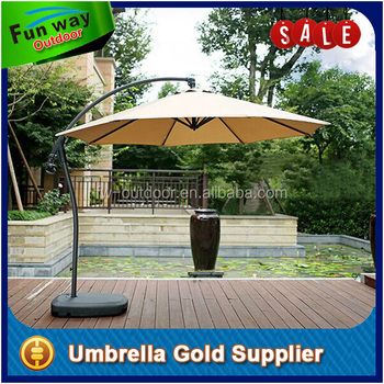 Attrayant 11 Feet Cantilever Freestanding Patio Umbrella With Crank And Base   Buy  Freestanding Patio Umbrella,Freestanding Patio Umbrella,Cantilever Patio ...