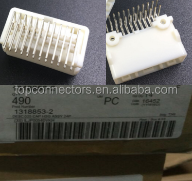 1318853-2 header CONN RCPT 24POS R/A PCB PIN SN connectors terminals housings we are have in stock 2940pcs
