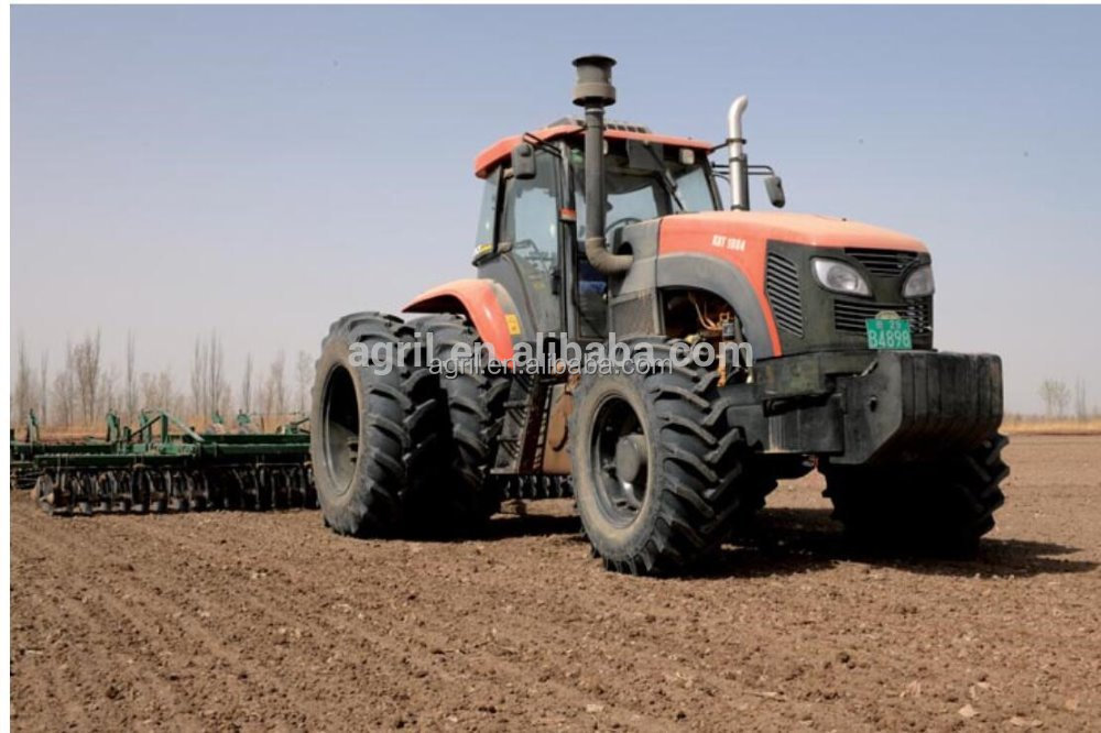 big power farm agricultural tractor 2804,280Hp,4WD. use 6 cylinders engine,FAST gearbox,Carraro axles,dual wheels