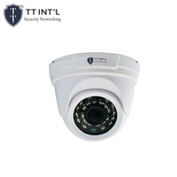 High Definition Plastic Home Security 2MP 1080P AHD IR Dome CCTV Camera