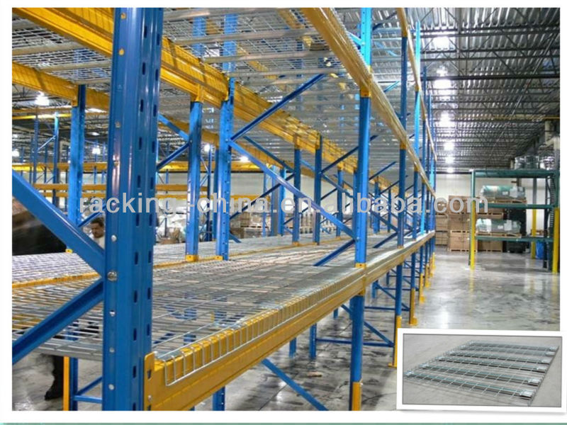 Wire Decking Pallet Rack, Wire Decking Pallet Rack Suppliers and ...