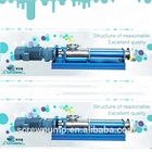 High Viscosity Screw Pump, Progressive Cavity Pump, Positive Displacement Pump for chemical, slurry, with 100rpm to 300rpm