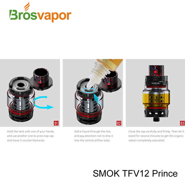 Wholesale Standard Edition 8ml Smoktech TFV 12 Prince, EU Edition 2ml SMOK TFV12 PRINCE