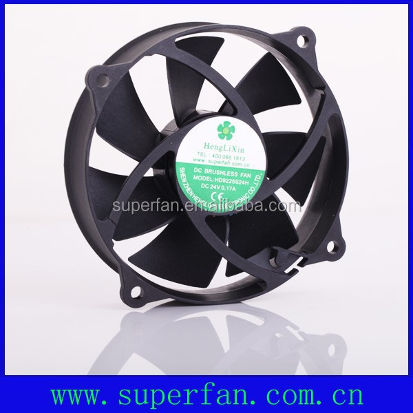92mm small 24v dc cooling fan for induction cooke