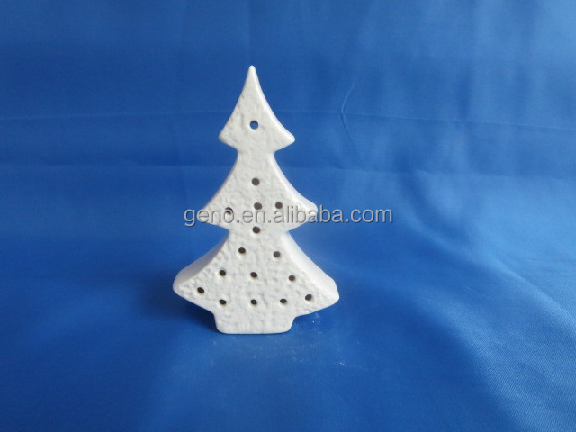 Hot selling Porcelain bisque cut Christmas tree