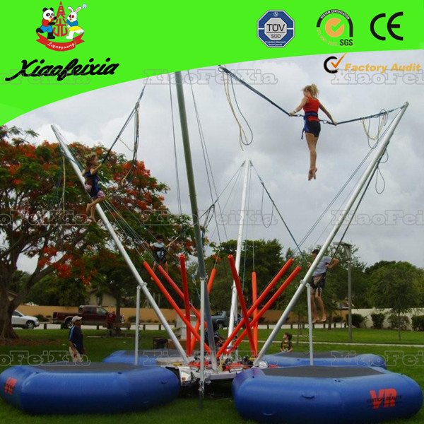 2016 hot sale bungee jumping,bungee trampoline price