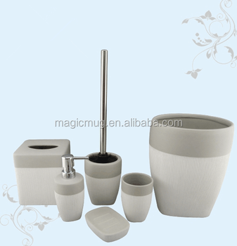 New products ceramic bathroom products with silver electroplated