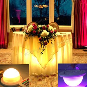 Decoration RGB LED Lamp Base for LED Luminous Furniture