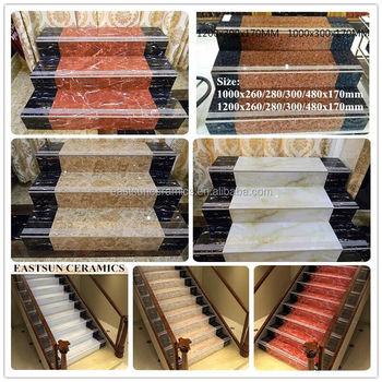 Ceramic Stair Floor Tiles,porcelain Tile Stair Nosing,porcelain Tile For  Stairs