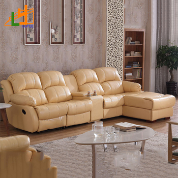 Fantastic Humanized Design European Style Living Room Recliner Sofa Set Yellow Genuine Leather Sofa Buy Sofa Genuine Leather Sofa Recliner Sofa Set Product On Machost Co Dining Chair Design Ideas Machostcouk