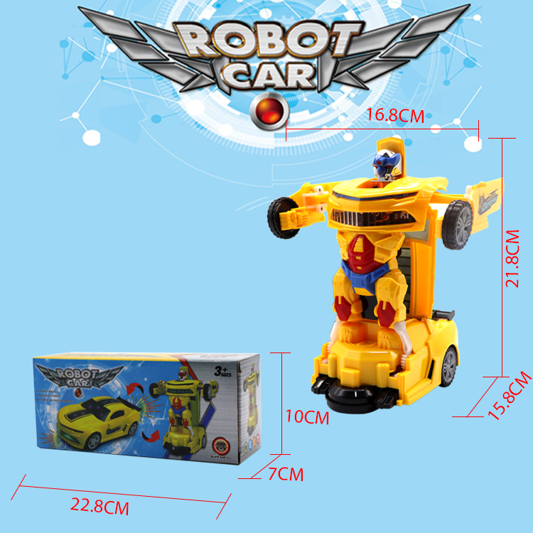 Wholesale new funny kids gift remote control deformation robot car toy for children