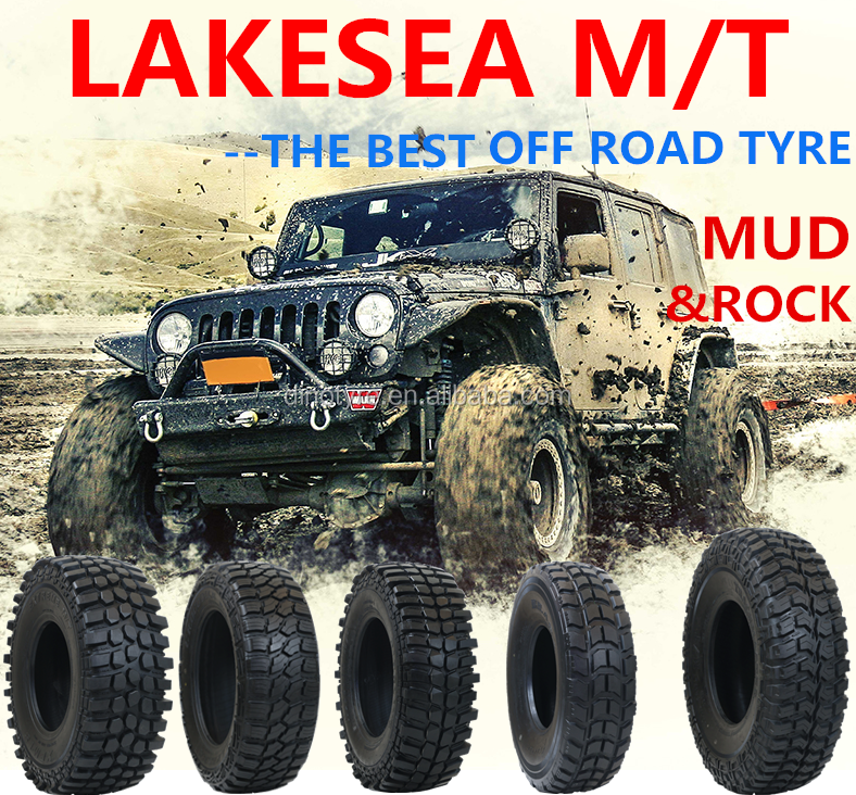 BEST 4X4 off road TYRE Mud & rock terrain tires MT 265/70 R17 285/65 R16 Lakesea