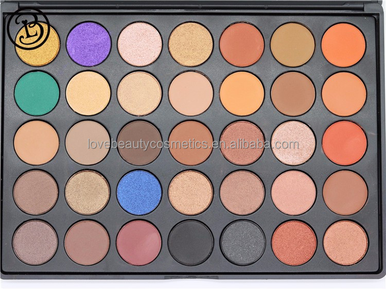 Make up eyeshadow palette 35 color Wholesale eyeshadow palette